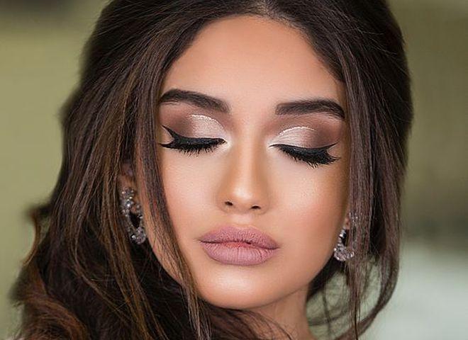6165a908b8efc8 Ідеї весільного макіяжу для карих очей: тренди 2019 - tochka.net