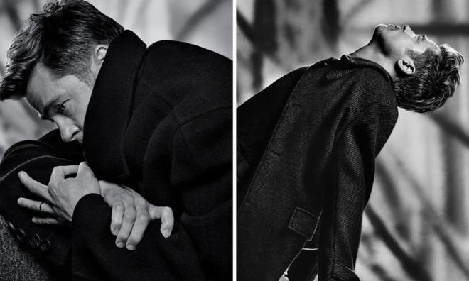 Бред Пітт для T Magazine Men's Fashion Fall 2016