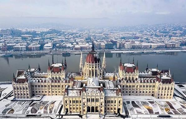 Будапешт зимой
