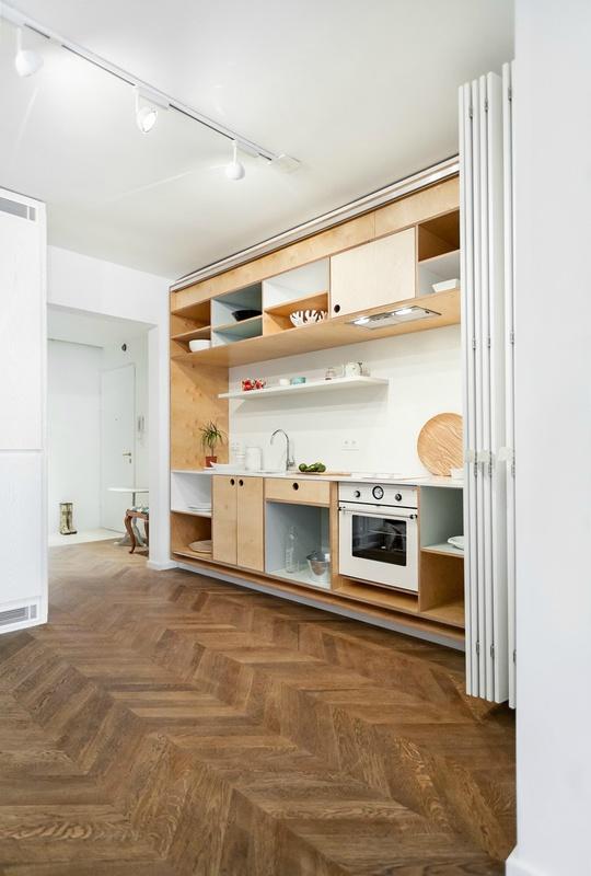 прихована кухня