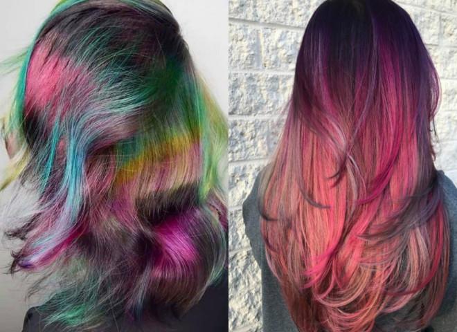 краска меняющая цвет