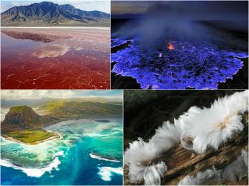 Живі камені, крижане волосся і багато іншого: 15 неймовірних феноменів природи