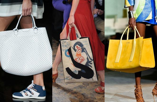Топ-5 трендовых сумок для весны 2015 коллаж