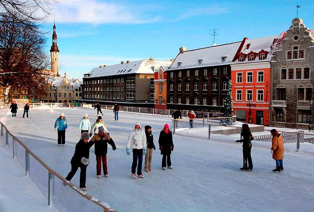 Зустрічаємо Різдво і Новий рік 2011 у Таллінні