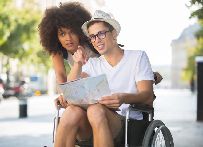 Подорож в інвалідному кріслі