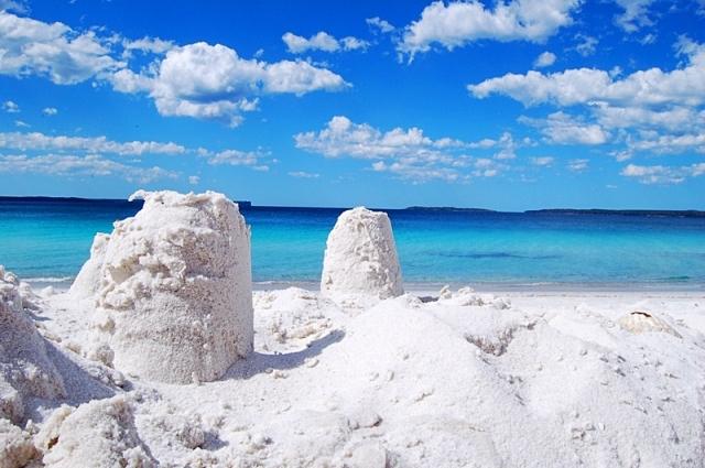 Где тепло зимой: Хайямс Бич, Австралия