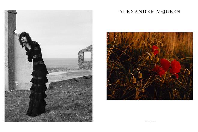 Кампейн Alexander McQueen осінь-зима 2016/2017