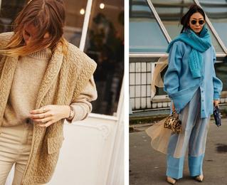 Как небанально сочетать свитер осенью