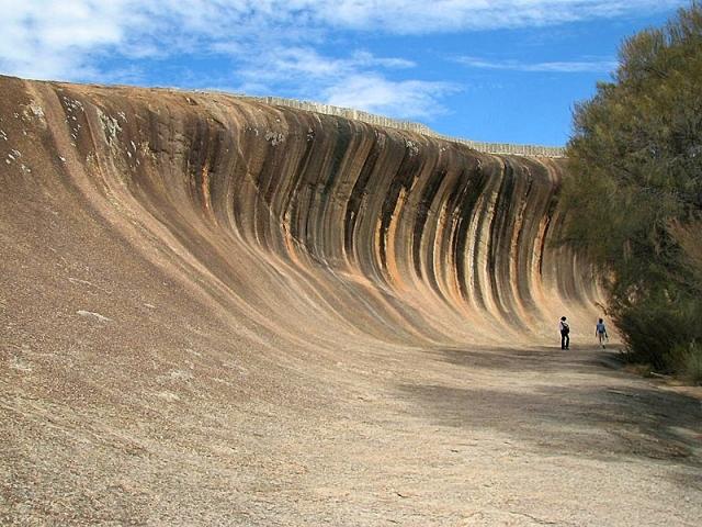 Скала-волна в Австралии
