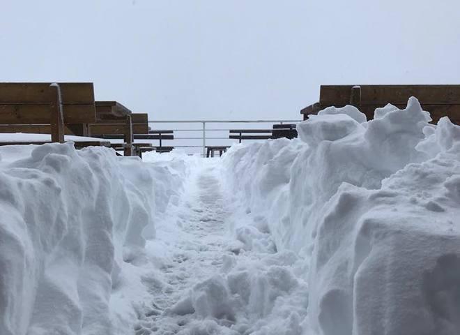Сніг в Італії