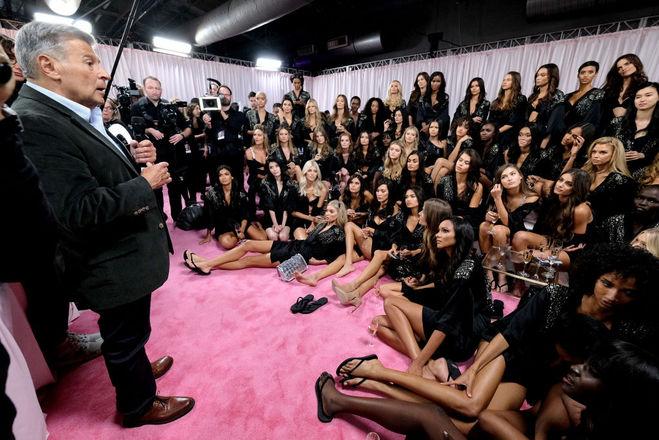 "Эд Разек и ""ангелы"" Victoria's Secret"
