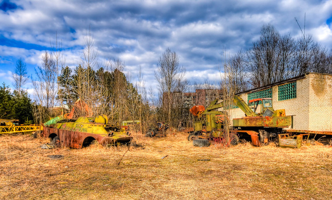 10 городов Земли, куда не стоит ехать. Чернобыль, Украина