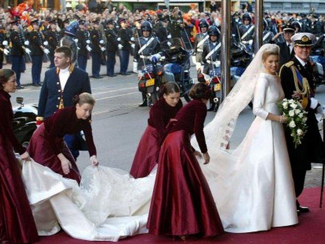 Свадьба принцессы Максимы и принца Оранских