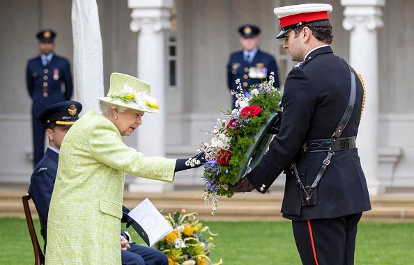 Королева Великобритании Елизавета II на праздновании столетия RAAF