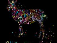 Сказочная открытки на Новый год козы 2015