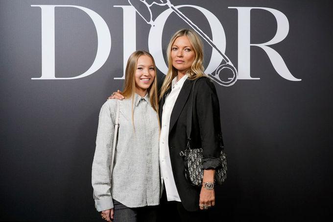 Кейт Мосс з дочкою