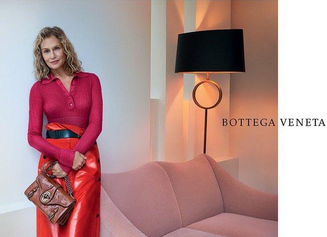 73-річна модель знялася для Bottega Veneta
