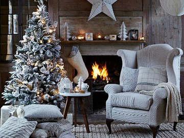 Рождественские интерьеры