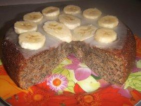 Бананово-маковый кекс в мультиварке