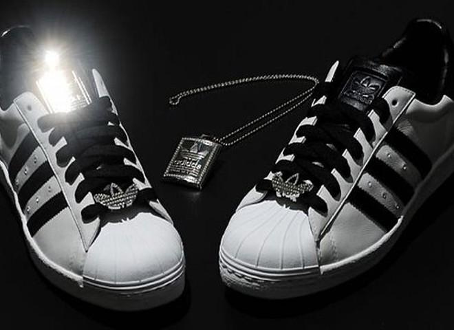 Компанія Adidas представила кеди з діамантами