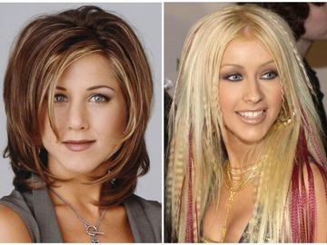 Модні зачіски з 90-х