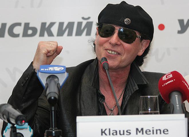 """Пресс-конференция группы """"Scorpions"""""""