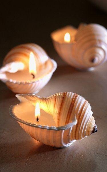 Декор свечей ко Дню влюбленных