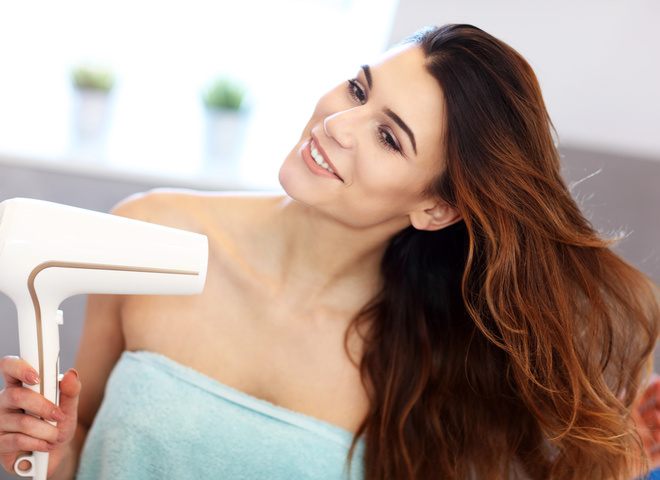 Часті помилки при сушінні волосся феном