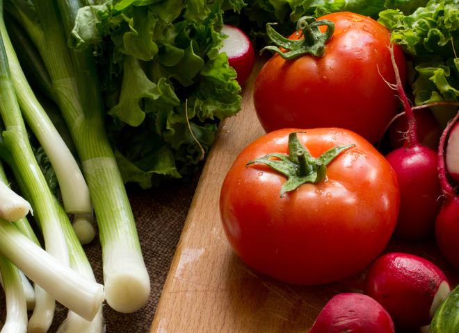 Літні овочі