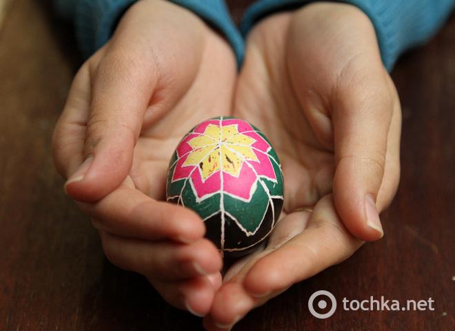 Пасха 2014, Мастер-класс по росписи пасхальных яиц