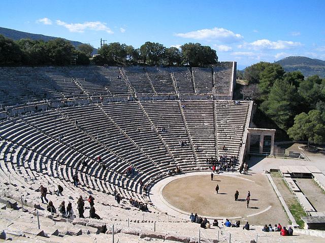 Достопримечательности Греции: Театр Эпидавра