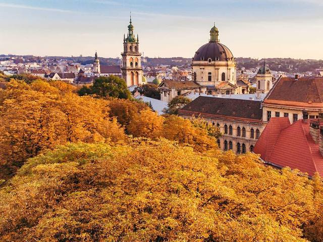 Осінь в українських містах