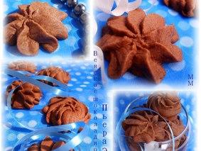 Венское шоколадное сабле Пьера Эрмэ.
