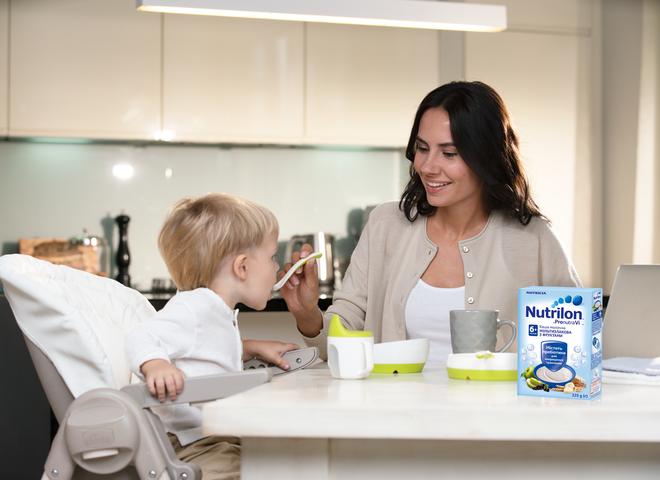 Детские каши Nutrilon 6+ – правильное питание для полноценного развития малышей