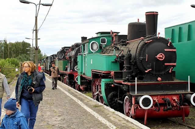 Музеи Варшавы: Железнодорожный музей