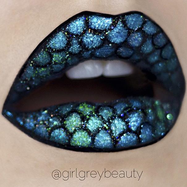 Шедевры на губах от Андреа Рид