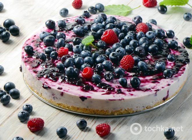 Торт без выпечки: рецепт летнего творожного десерта