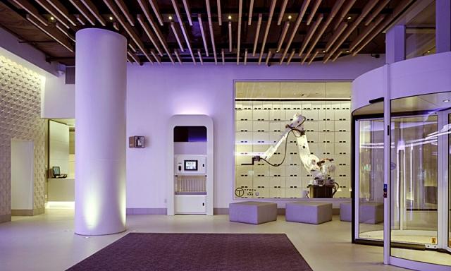 Где почувствовать себя космонавтом: YOTEL - отель в Нью-Йорке