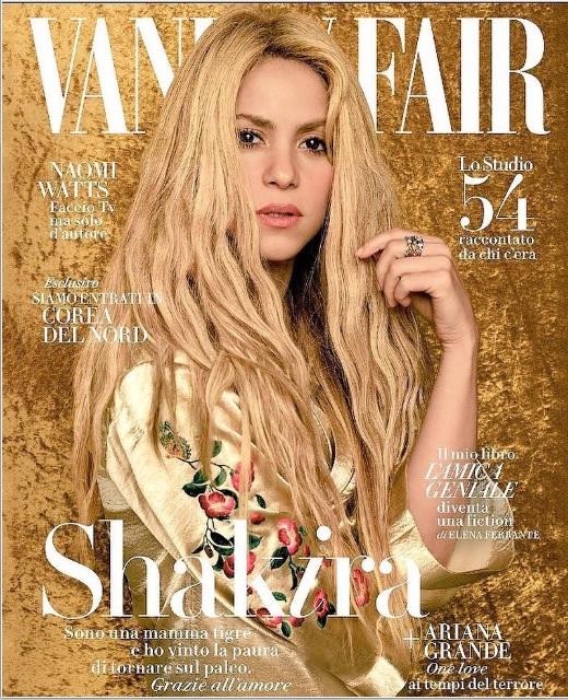 Шакира для Vanity Fair