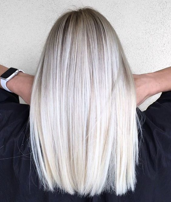 Окрашивание волос для блондинок на осень