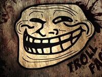 Troll face HD