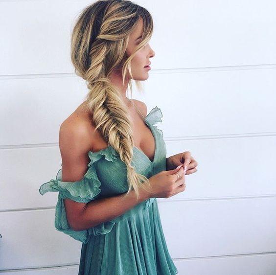 Модні зачіски з косами 2018