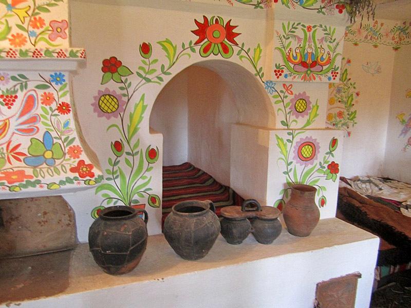 Украинская печка фото