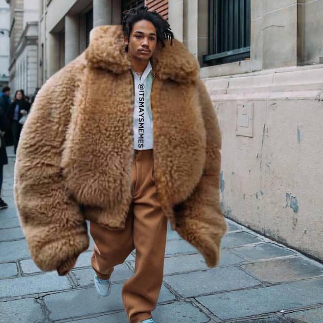 Чем больше, тем лучше. 16-летняя May троллит моду oversize вещи