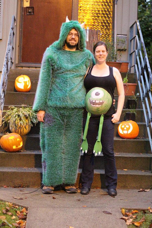Как беременные женщины отмечали Хэллоуин