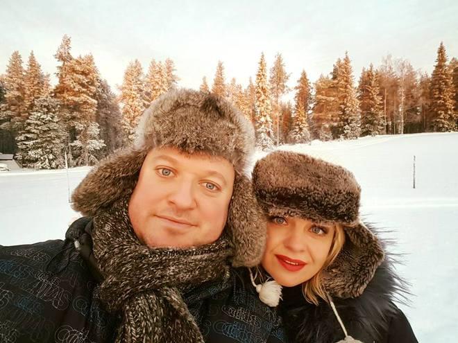 Ирма Витовская с мужем