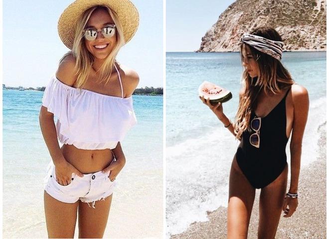 Пляжна мода 2018