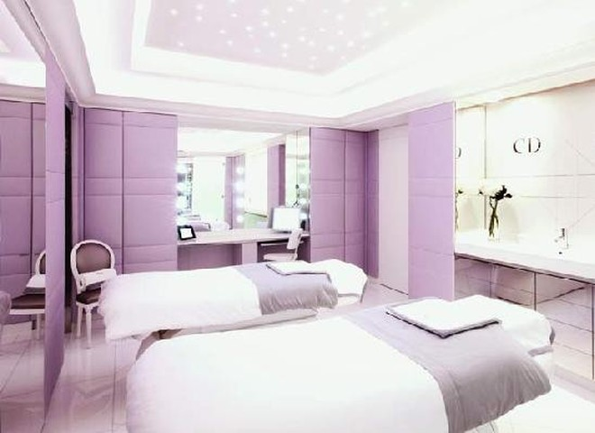 Омолодиться в  спа от  Dior в Париже