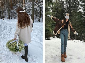 Оригинальные фото со снегом