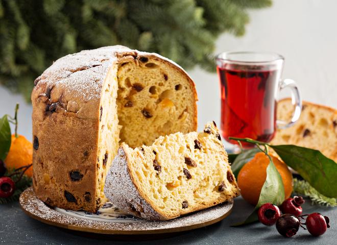 Итальянская паска панеттоне: рецепт